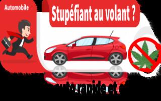 Assurance auto stupéfiant