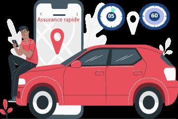 Assurance auto temporaire rapide
